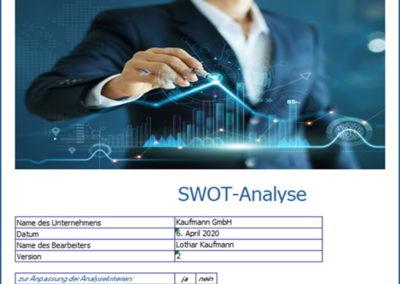 Startseite swot-analyse tool